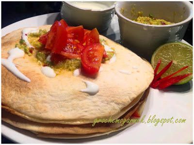 Quesadilla z guacamole