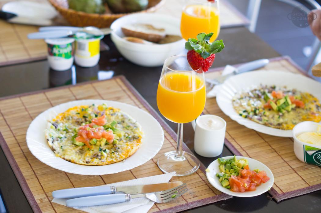 śniadanie, omlet
