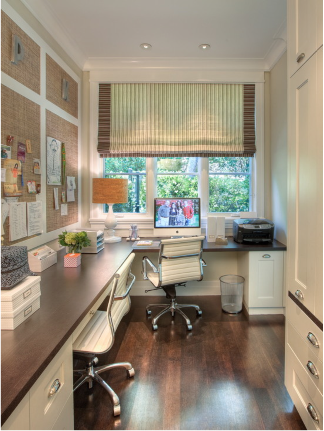 Stylish home office design ideas transitional home office de.
