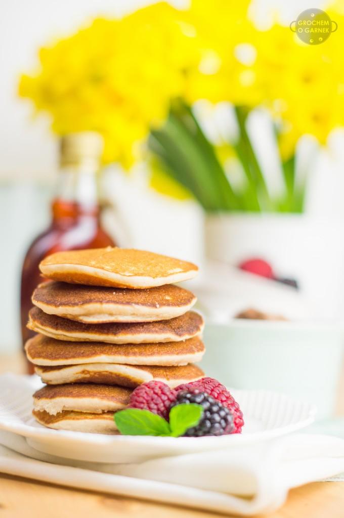 Amerykańskie pancakes bezglutenowe / glutenfree pancakes