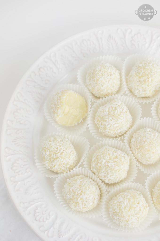 wegańskie rafaello bez cukru