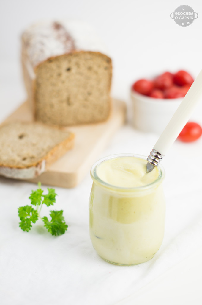 idealny wegański majonez bez jajek