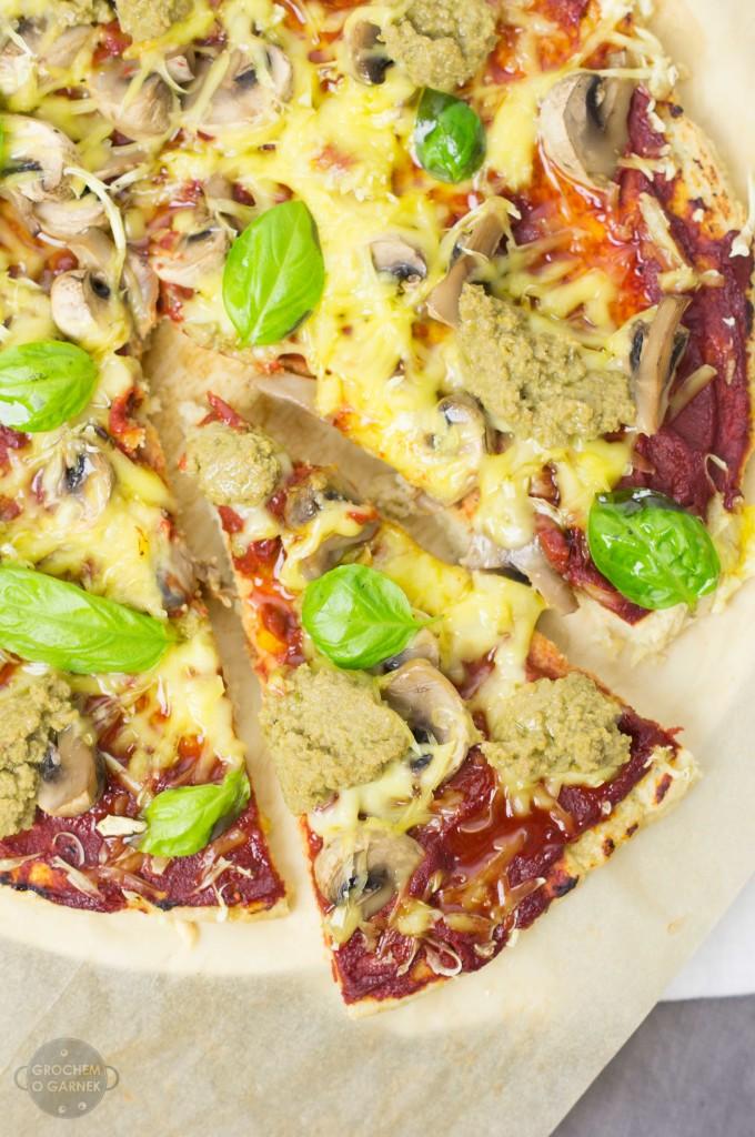 najlepsza pizza bezglutenowa na cieście z kaszy jaglanej