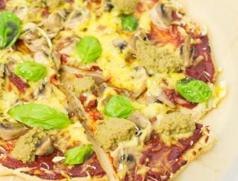 Najlepsza pizza bezglutenowa z kaszy jaglanej