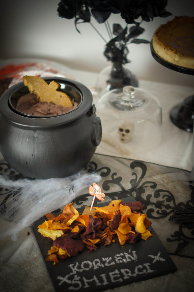hummus z czarnej fasoli