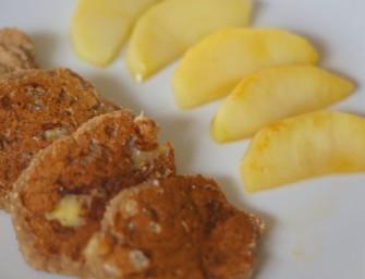 [BLW] Placuszki z mąki kasztanowej