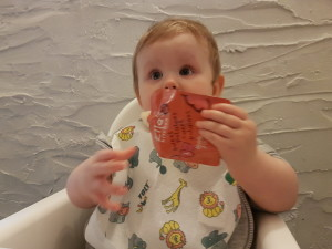 jedzenie niemowlaka w podrozy