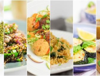 7 lekkich i szybkich obiadów wegetariańskich (bez glutenu)