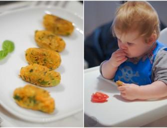 [BLW] Kotleciki z marchewki i cukinii