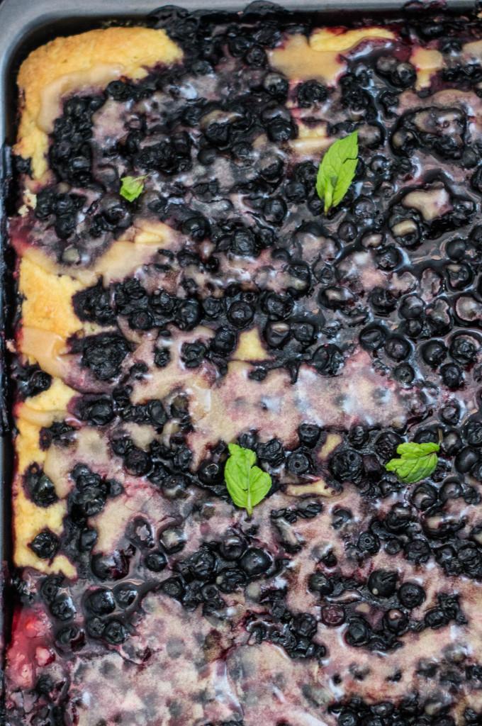 ciasto ucierane z owocami bezglutenowe i wegańskie