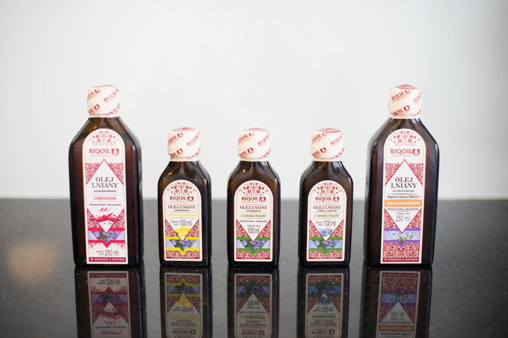 Olej lniany właściwości BIOOIL®