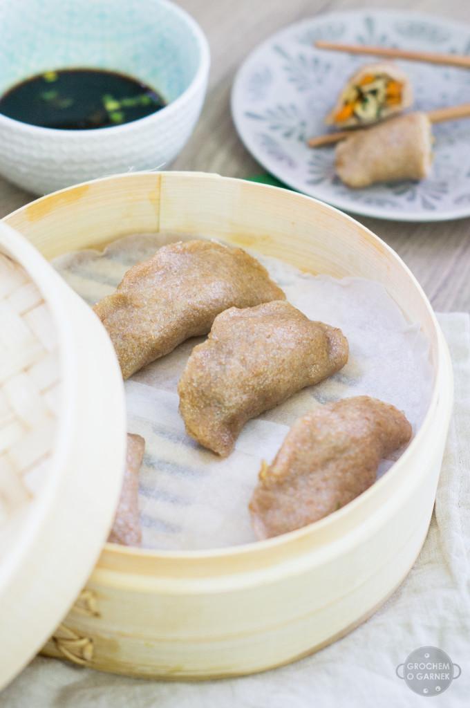 wegańskie dim sum - azjatyckie pierożki
